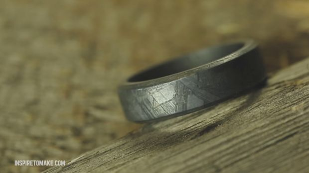 This Guy Made A Wedding Ring From Real Meteorite Chilled Mind