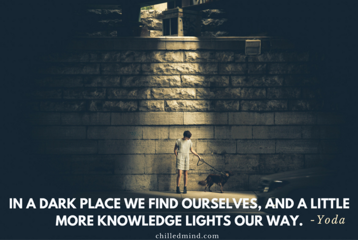 In a dark place we find ourselves, and a little more knowledge lights our way. -Yoda