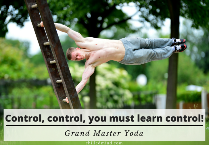 Control, control, you must learn control! -Grand Master Yoda